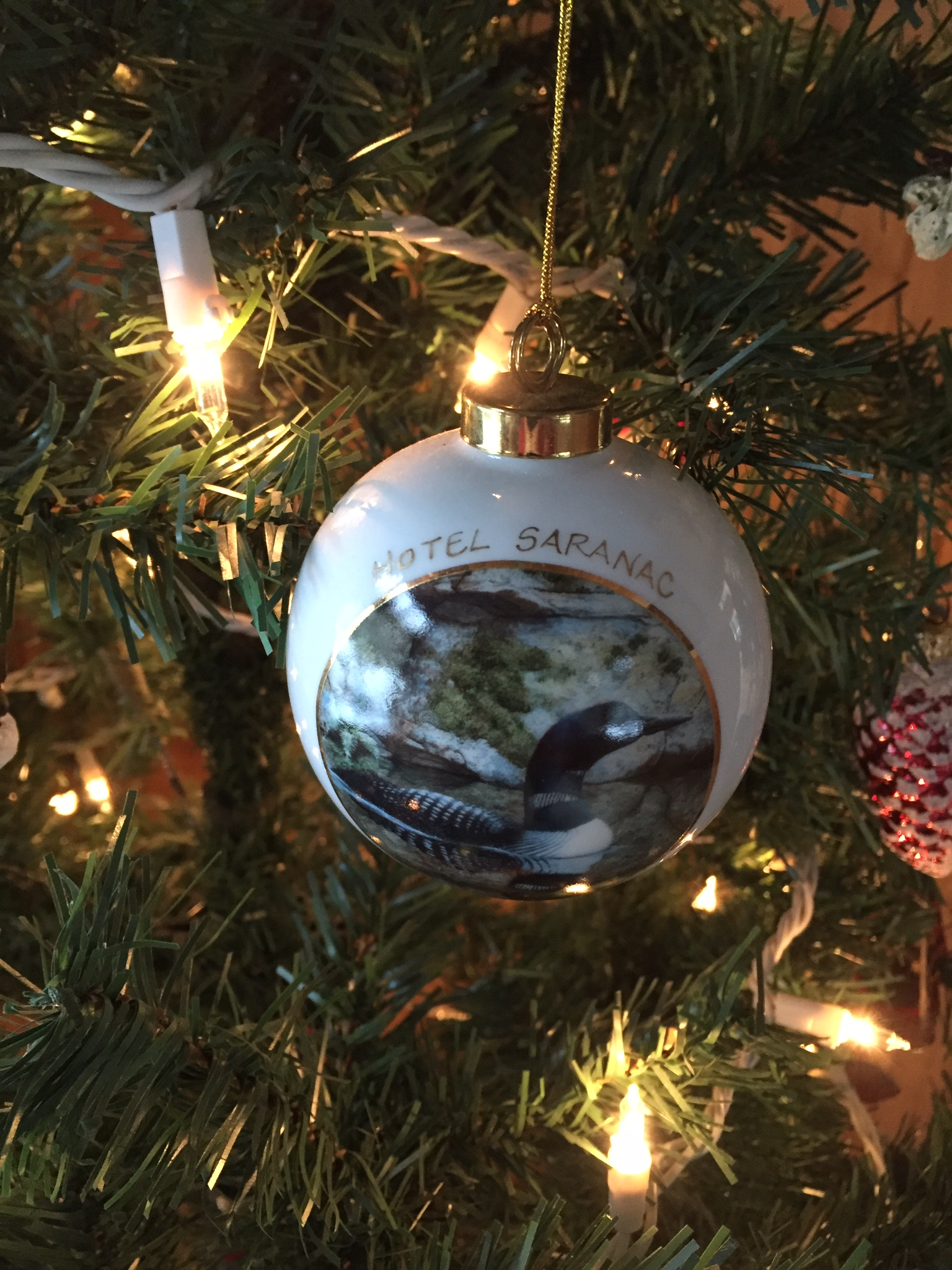 Christmas ornament by Sandy Day