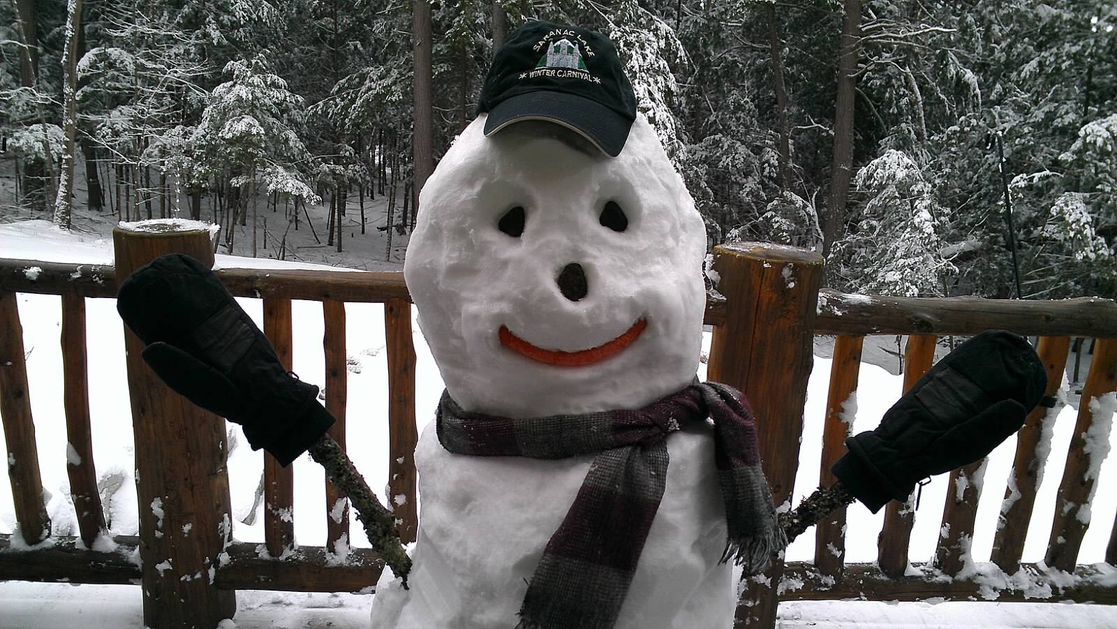 Snowman by Sandy Day