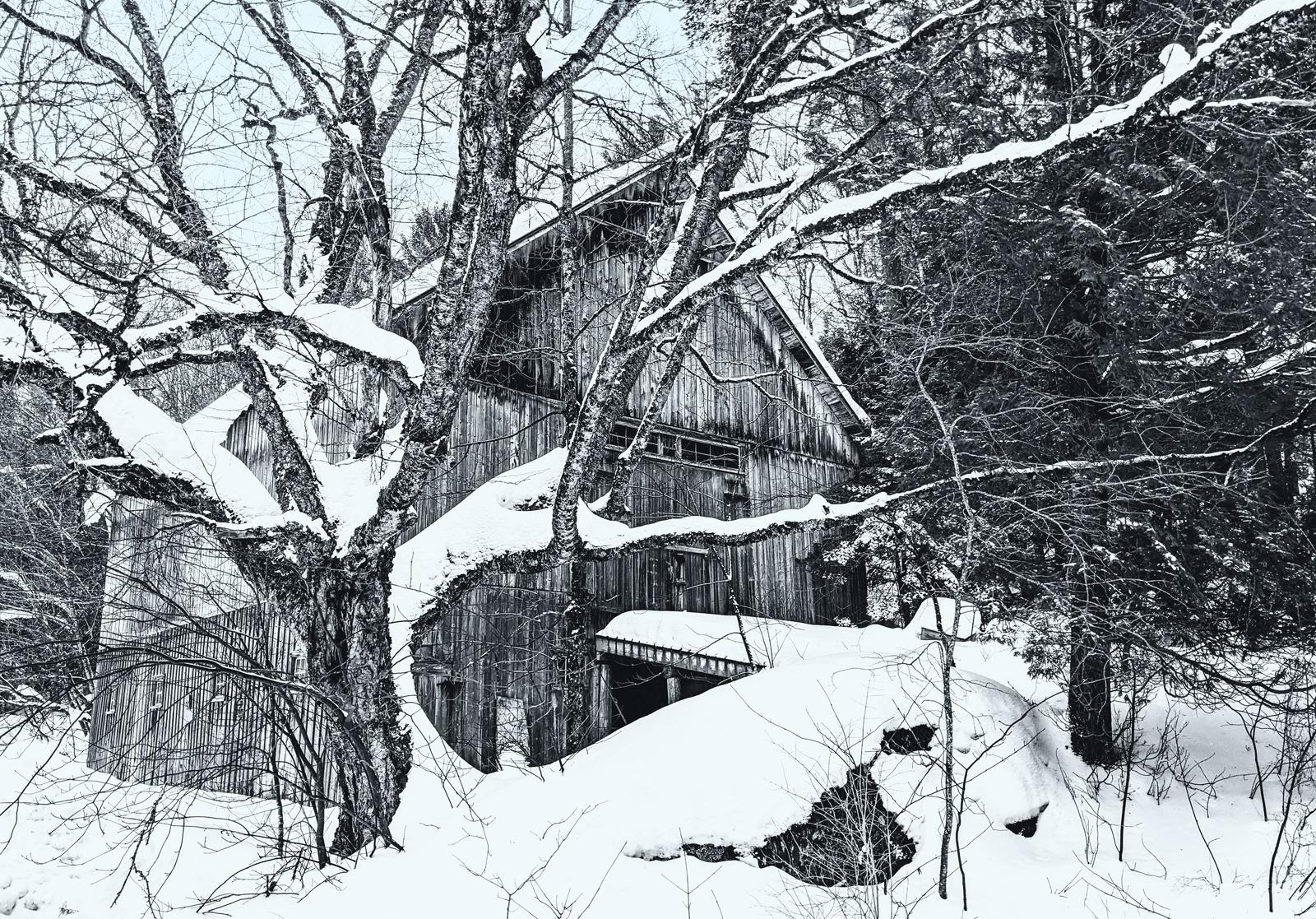 G. Bebernitz: Bartlett Carry Barn (Landscape)